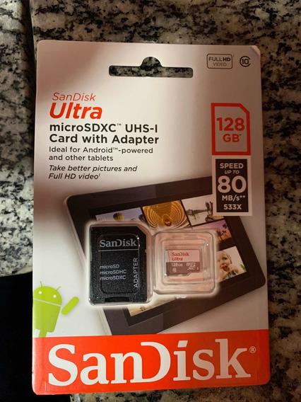 Cartão Micro Sd - Sandisk 128gb