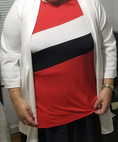 Hermoso Sweater Blanco Talla 2x