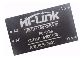 Mini Fonte Hi Link Hlk 100-240ac 5v Dc