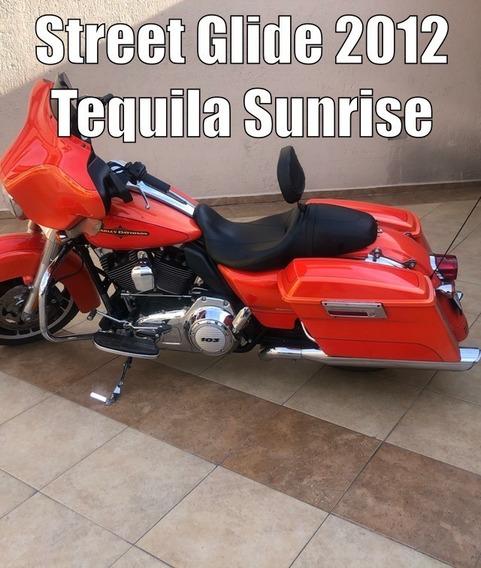 Harley Street Glide 2012 Edicion Tequila Sunrise