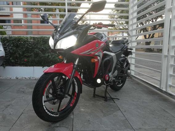 Vendo Yamaha Fazer 150 Rojo-negro 2016 Cali