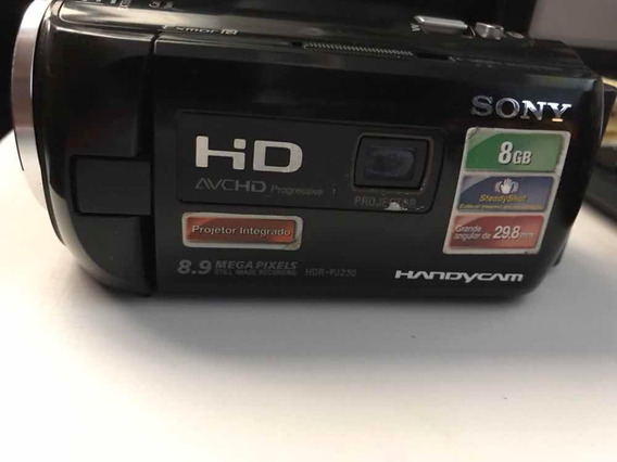 Filmadora Sony Hdr - Pj 230 Promoção