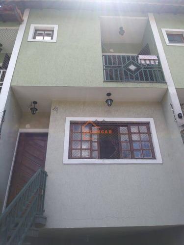 Sobrado À Venda, 125 M² Por R$ 435.000,00 - Vila Taquari - São Paulo/sp - So0002