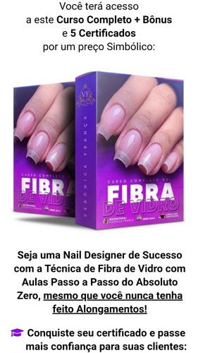 Imagem 1 de 5 de Promoção Curso De Unhas Em Fibra De Vidroid613816
