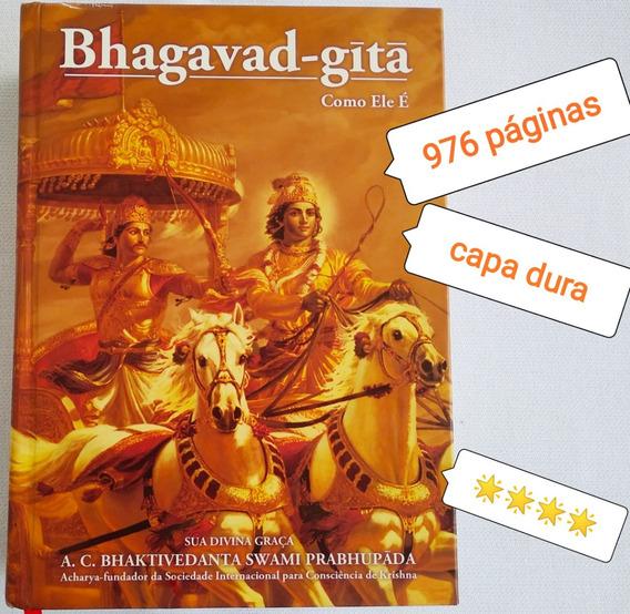 Livro Usado Bhagavad Gita Como Ele E ****estrelas Capa Dura