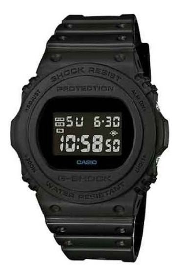 Relogio Casio G-shock Dw-5750e-1bdr Fundo Negativo Dw-5600