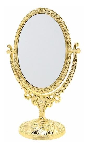 Espelho Princesa Grande Penteadeira Dourado Ou Prata!!!