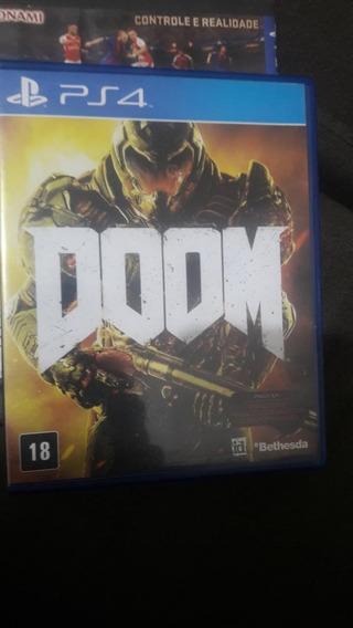 Jogo Original Doom Ps4