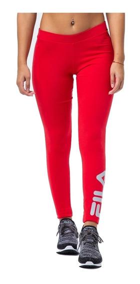 Calza Fila Mujer Deportiva Legging Entrenar Algodon Running