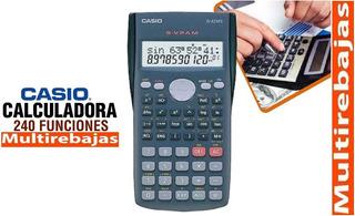 240 Funciones En Calculadora Cientifica Casio Fx-82ms