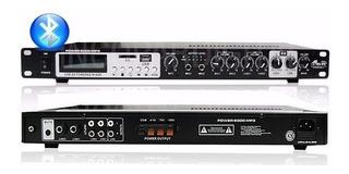 Amplificador Musica Gbr Power 6000 Mp3 100w 100v Nuevo