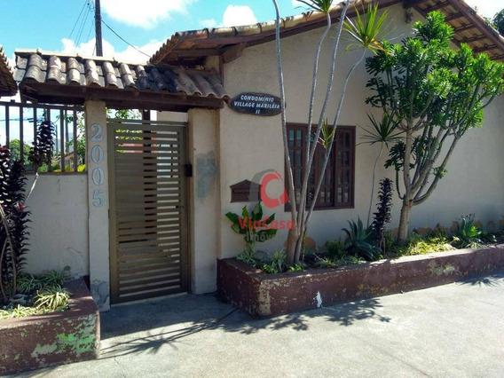 Casa De 3 Quartos, Atlântica - Ca1425
