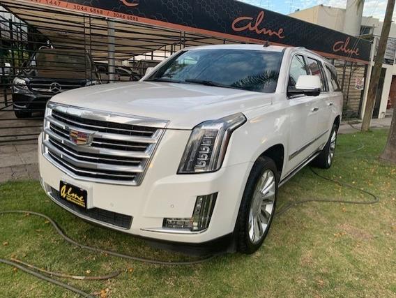 Cadillac Escalade Plinum 2016 Blanco