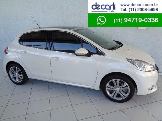 Peugeot 208 1.6 Griffe Aut. (flex) Branco Pérola 2014/2015