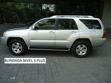 Toyota 4 Runner Limited V8 Blindada 3 Plus 2004 (impecable)