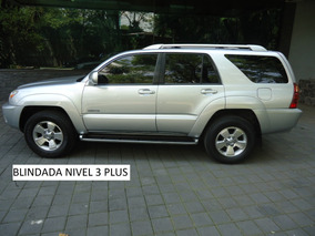 Toyota 4 Runner Limited V8 Blindada 3 Plus 2004 (impecable)