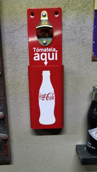Destapador Corcholatero Coca Cola