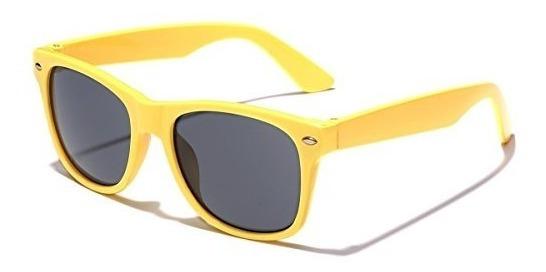 Gafas De Sol Classic Kids Neon Edad 3-12 - Amarillo