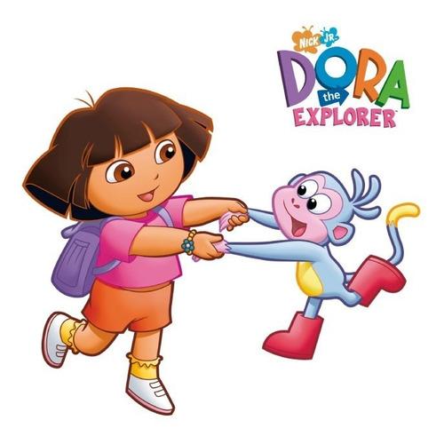 Dora-i 01 Vinilo Decorativo Dora La Exploradora, Calcomanía.