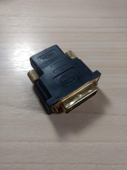 Conector Adaptador Dvi X Hdmi Fêmea 24+1