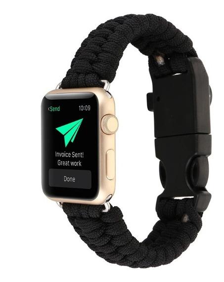 Correa Extensible Apple Watch 38 40mm Silbato Brújula Navaj