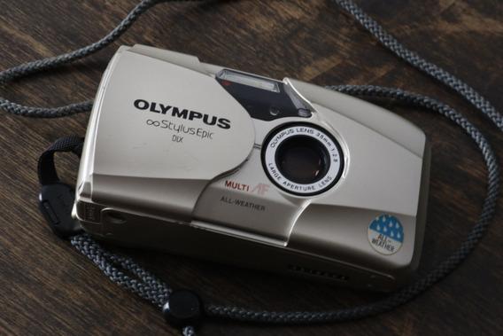 Câmera Olympus Stylus Epic Dlx - Panorama - Mju Ii