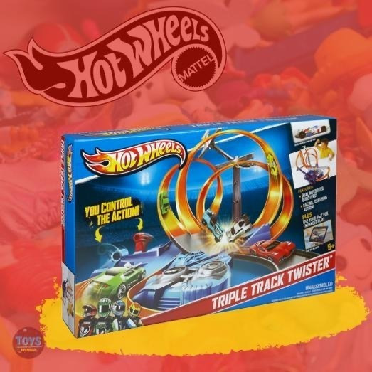 Pista Hotwheels Triple Track Twister Original