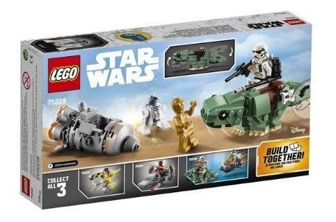 Lego 75228 Star Wars - Fuja Do Dewback