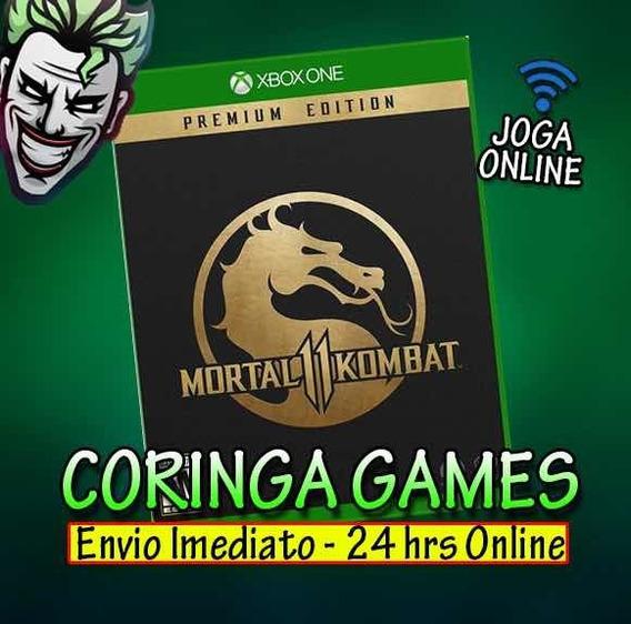 Mortal Kombat 11 Edição Premium Xbox One + 2 Brinde