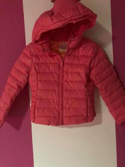 chaqueta impermeable niña zara