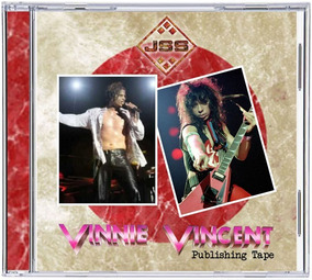 Cd Vinnie Vincent & Jeff Scott Soto - 1987 - Publishing Tape