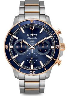 Reloj Bulova 98b301 Marine Star Crono Agente Oficial