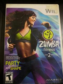 Videojuego Wii Zumba Fitness 2