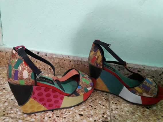Zapatos Ferretti De Cuero Artesanal