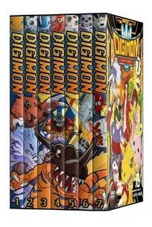 Digimon - 5 Temporadas + Filme - Dublado - 21 Dvds