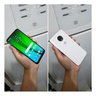 Smartphone Motorola Moto G7 Polar 64 Gb , Câmera Dupla , 4g