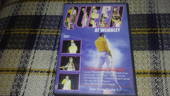 Dvd Queen Live At Wembley Usado Otimo Estado Frete 10.00