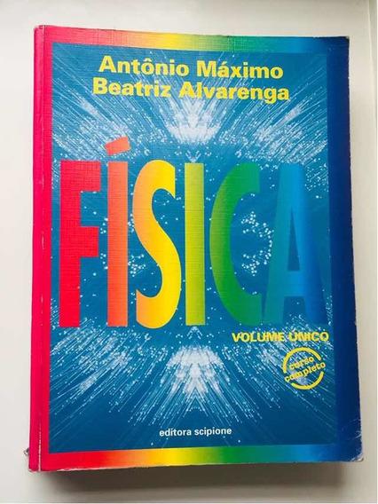 Livro Física Voume Único Curso Completo ( Antônio Máximo)
