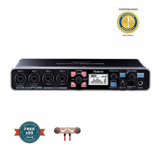 Roland Octa-capture High-speed Usb Audio Placa Includes Fr ®