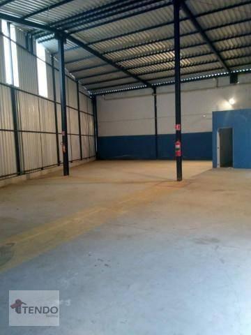 Galpão Comercial 350 M² - Vila São Paulo - Mogi Das Cruzes/sp  - Ga0029