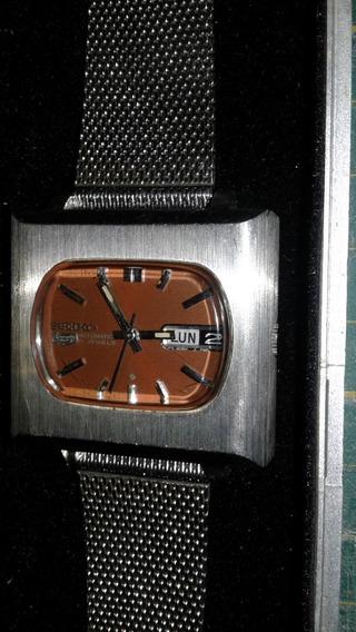 Relógio Seiko 61195400 Mod.tv Ano 70 Vintage Coleção Perfect