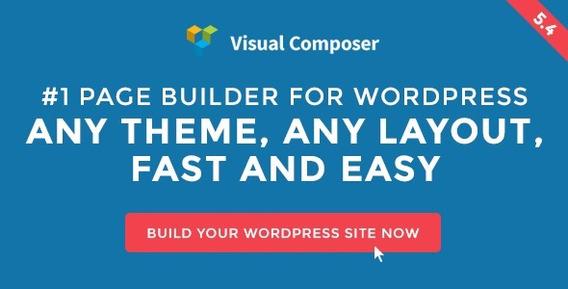 Visual Composer V5.4.1 Page Builder Plugin For Wordpress