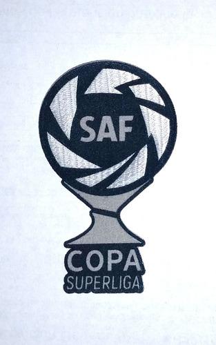 Imagen 1 de 4 de Parche Oficial Copa Súperliga Argentina De Fútbol