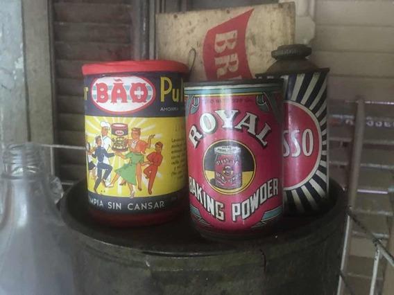 Adorno Almacén Antiguo Bao No Lata Aceite Botella Consorole