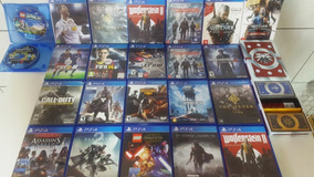 Lote De Jogos Playstation 4, Excelente Valor! Ou A Unidade!!