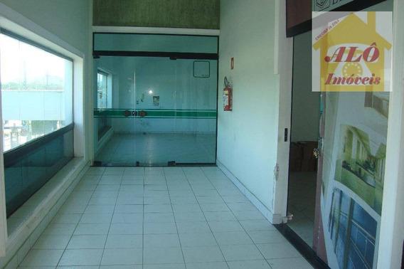 Sala Para Alugar, 95 M² Por R$ 1.300,00/mês - Tude Bastos (sítio Do Campo) - Praia Grande/sp - Sa0003