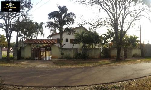 Ótima Chácara À Venda No Condomínio Colina Nova Boituva - Ch00092 - 34437532