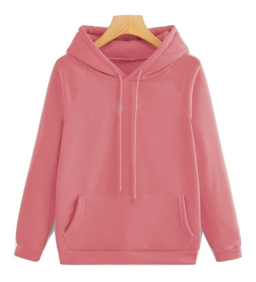Sudadera Color Rosa Unisex Pink Hoodie Rosa Me