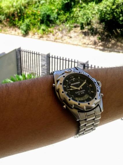 Relógio Technos Mormaii Sky Diver , Ref. T205.57 , Perfeito!