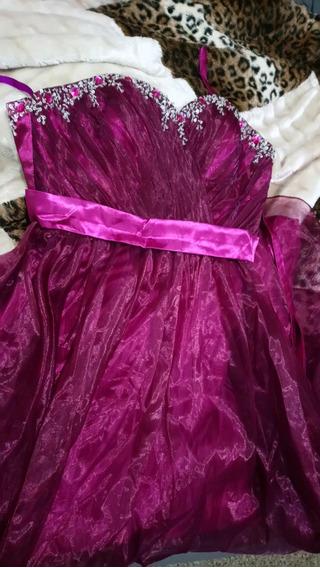 Vestido De Fiesta Largo Strapless Quince